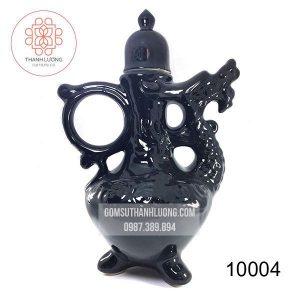 Bình Rượu Gốm Sứ Bát Tràng Men Bóng -10004