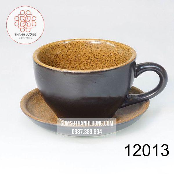 Cốc Cafe Capuchino Men Gốm Bát Tràng - 12013