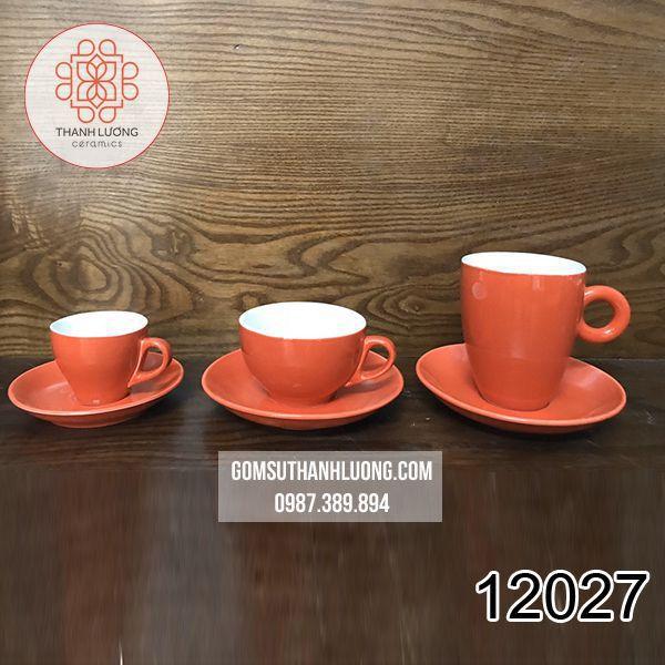 Set Cốc Capuchino Latte Espresso Bát Tràng - 12027