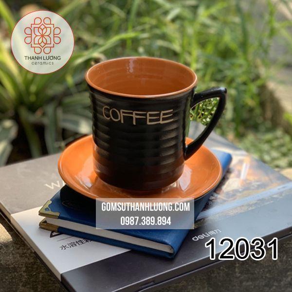 Cốc Cafe Vuốt Bát Tràng - 12031