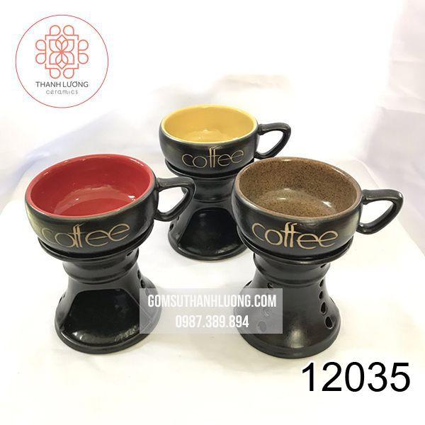 Bếp Đun Cafe Bát Tràng - 12035