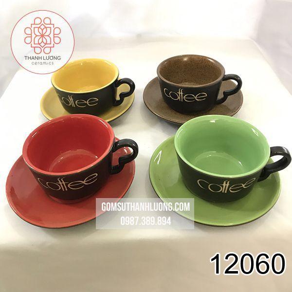 Set Cốc Cafe Đường Bát Tràng - 12060