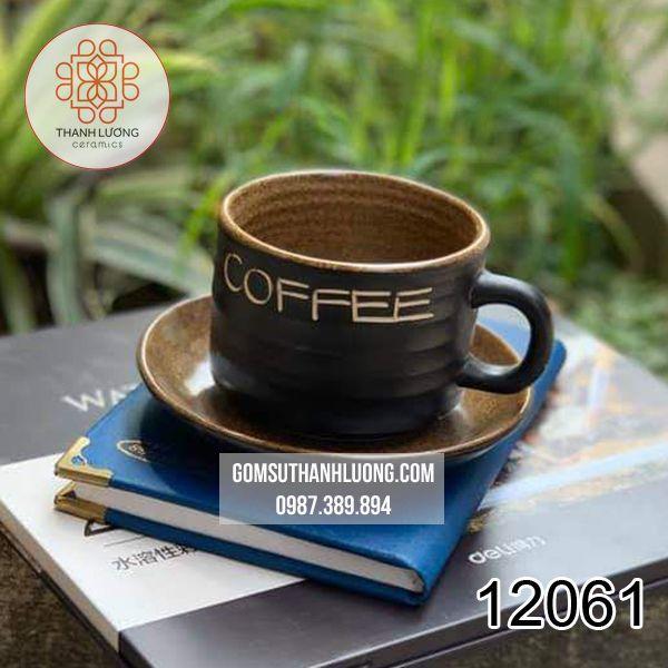 Cốc Uống Nước Đẹp Bát Tràng Lá - 12061