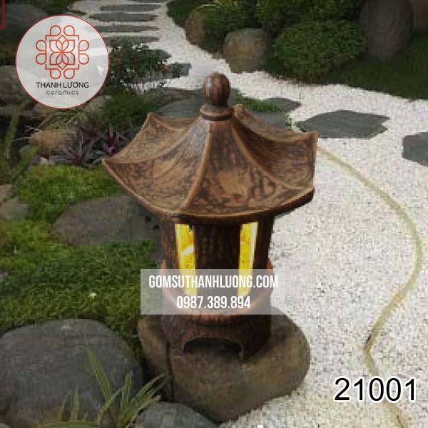 Đèn Gốm Sân Vườn Bát Tràng