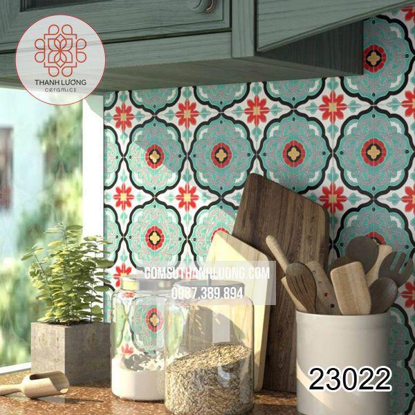 Gạch Mosaic Phòng bếp Bát Tràng