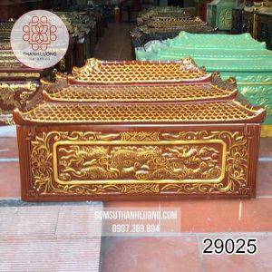 Quách Tiểu Bát Tràng Mái Chùa Rồng Nổi - 29025