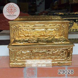 Tiểu Quách Mái Vòm Vàng Bát Tràng - 29028