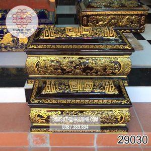 Tiểu Quách Rồng Nổi Vàng Bát Tràng -29030