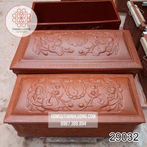 Tiểu Quách Gốm Nâu Giá Rẻ Bát Tràng -29032