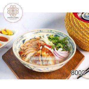 Tô Sứ Bán Phở Hoa Dây Bát Tràng -8002
