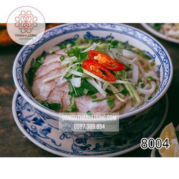 Tô Sứ Ăn Phở Bát Tràng -8004
