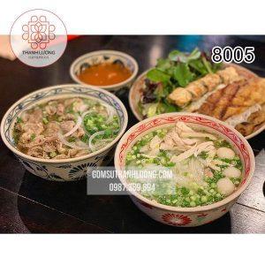 Tô Phở Sứ Hoa Dây Bát Tràng -8005
