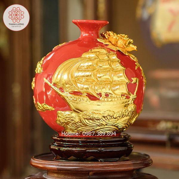 Bình Hút Lộc Thuận Buồm Xuôi Gió Cao 20cm - 25137
