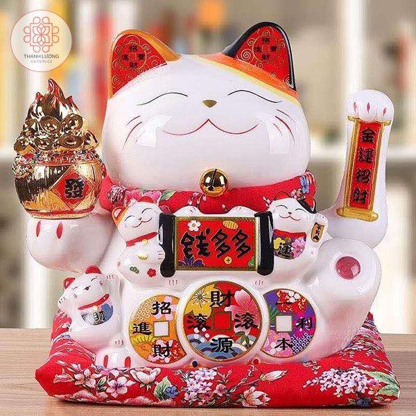 Mèo Thần Tài 25cm - 36017