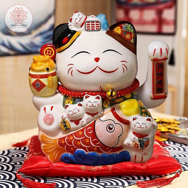 Mèo Thần Tài 25cm - 36022