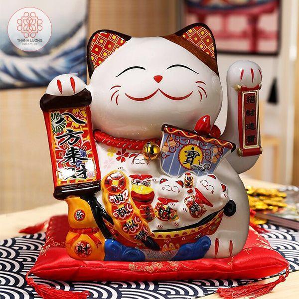 Mèo Thần Tài 20cm Vẫy Tay Có Sạc - 36023