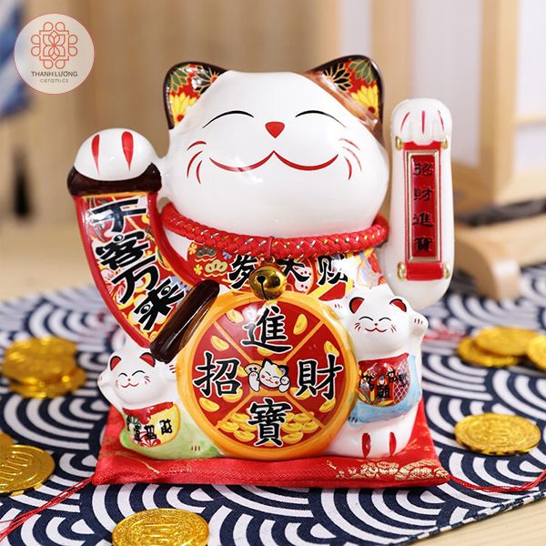 Mèo Thần Tài 20cm Vẫy Tay Có Sạc - 36024